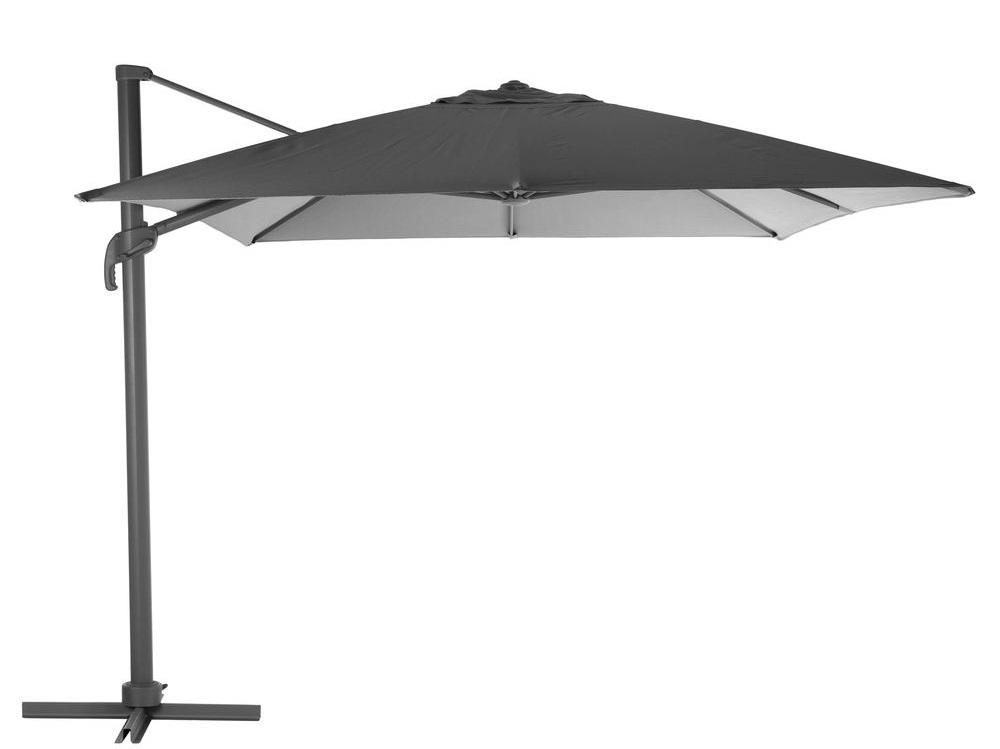 Slunečník Elea 300x400cm šedý