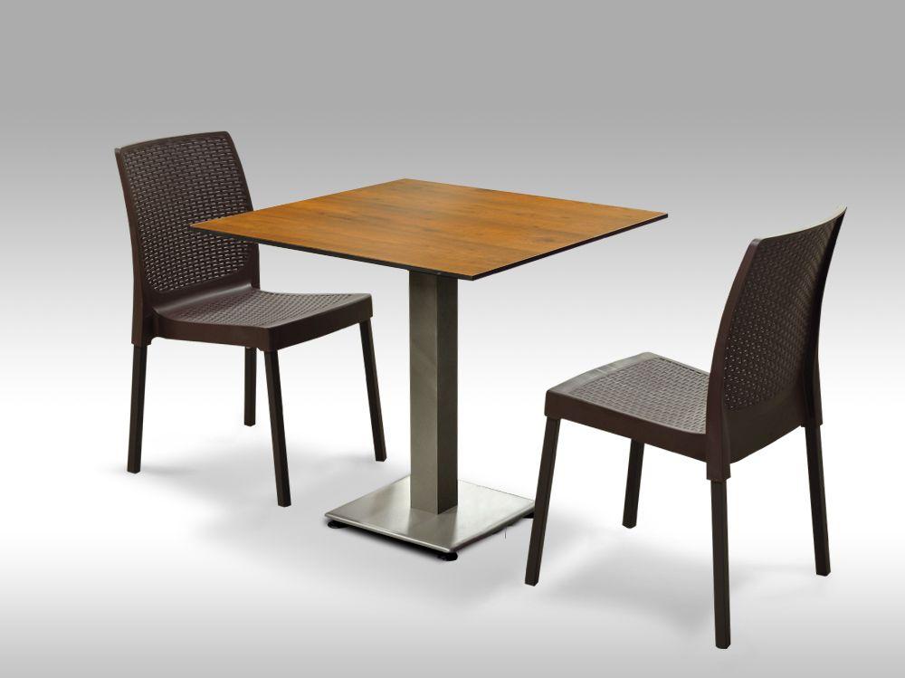 Jídelní sestava Almeria + 2 židle Malaga