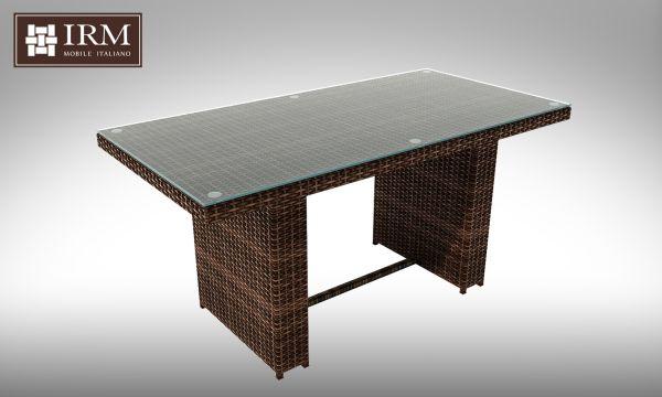 Jídelní stůl z umělého ratanu Brillante