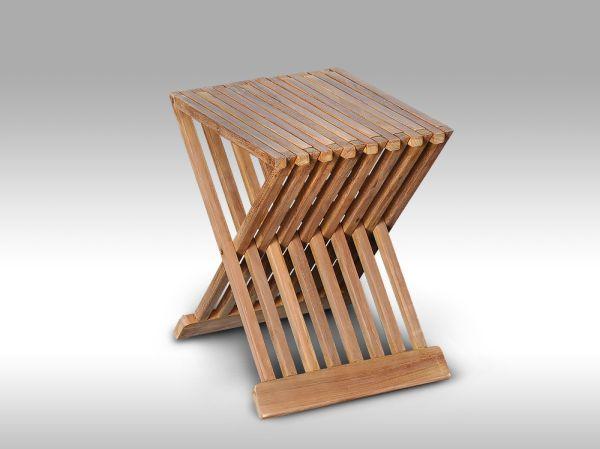 Teakový odkládací stolek Flores