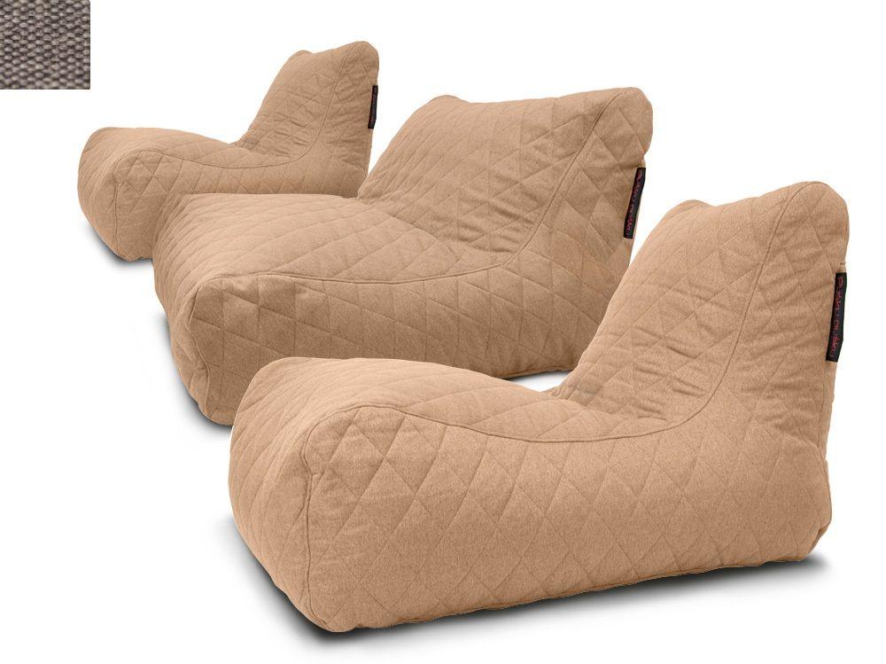 Sedací souprava Lounge Quilted Nordic Concrete