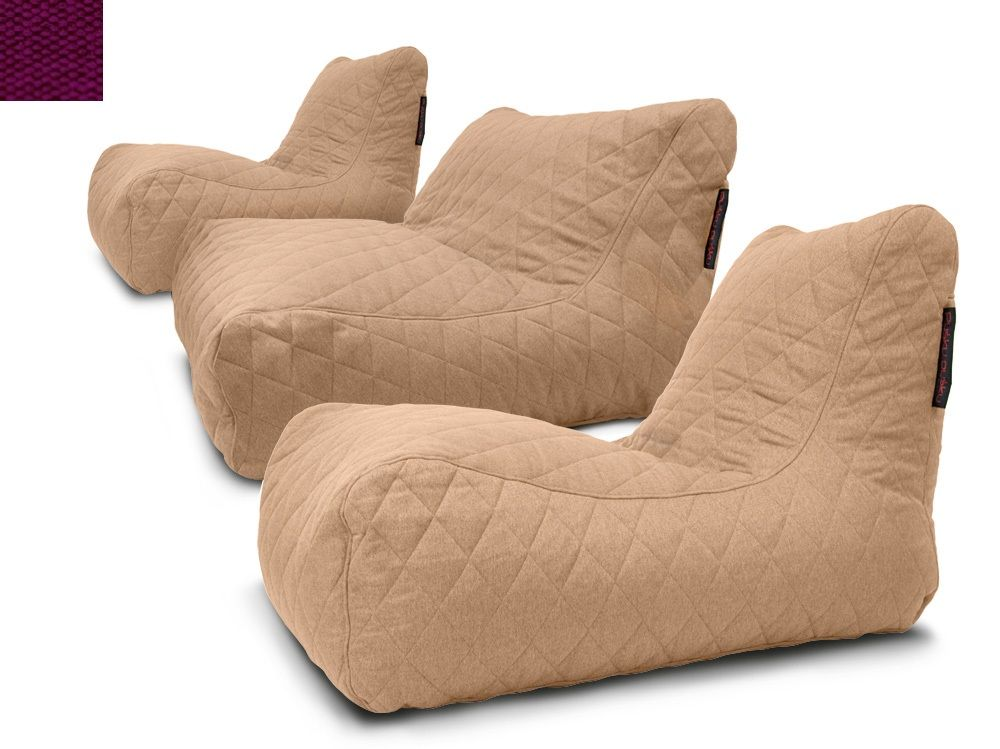 Sedací souprava Lounge Quilted Nordic Violet