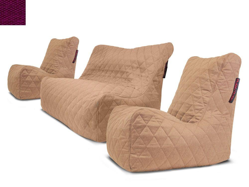 Sedací souprava Seat Quilted Nordic Violet