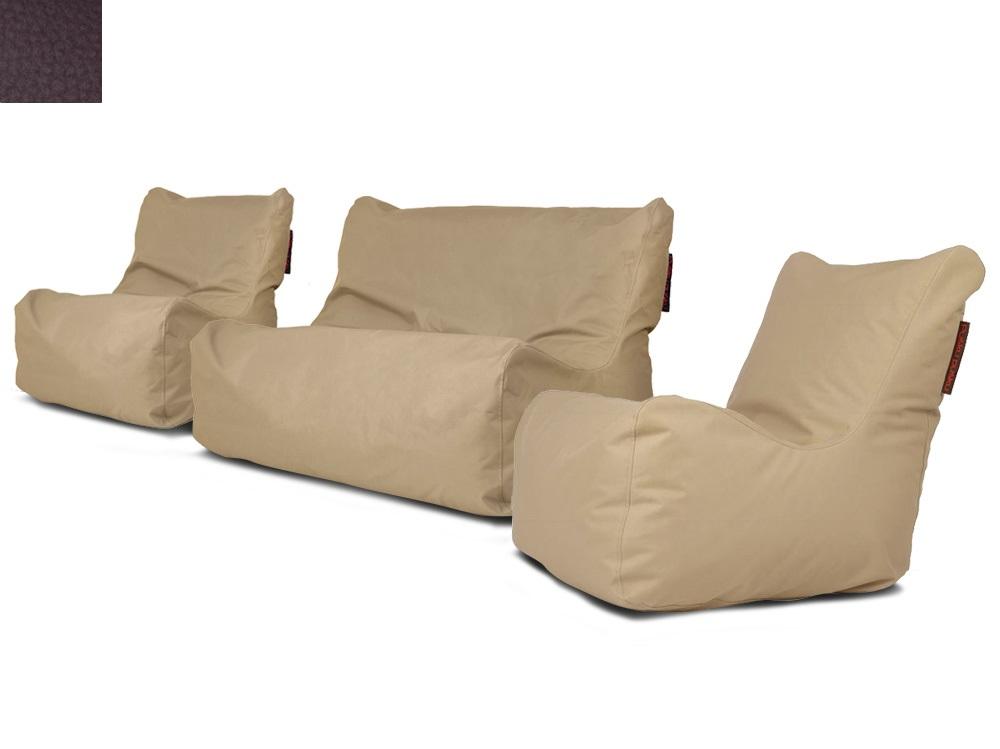 Venkovní sedací souprava Seat Brown