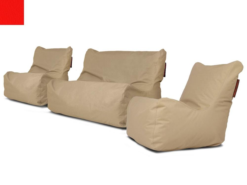 Venkovní sedací souprava Seat Red