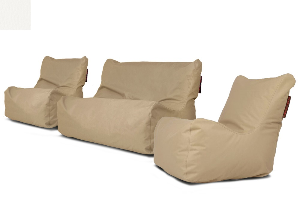 Venkovní sedací souprava Seat White