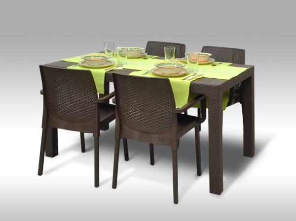 Jídelní sestava Sevilla + 4 židle Cordoba