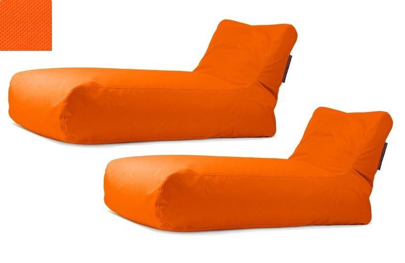 Akční set: 2x lehátko Sunbed Orange