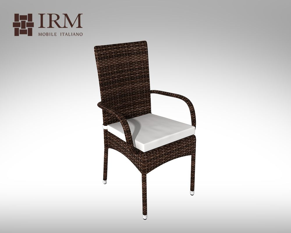 Židle z umělého ratanu Piccione