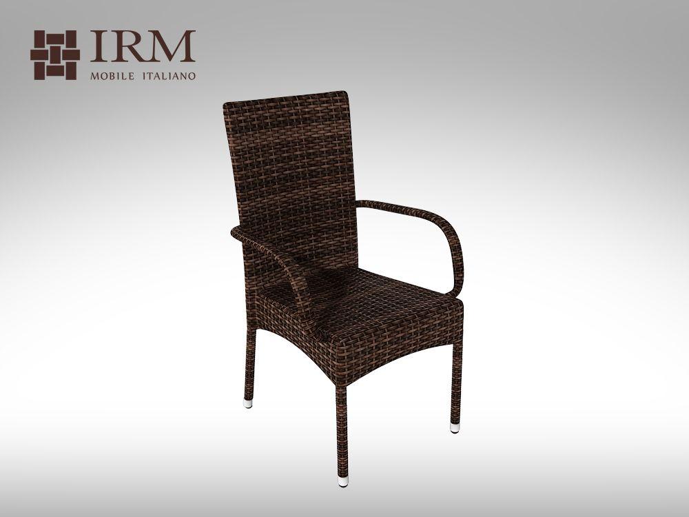 Židle z umělého ratanu  Piccione bez polstru VZHLEDOVÉ VADY