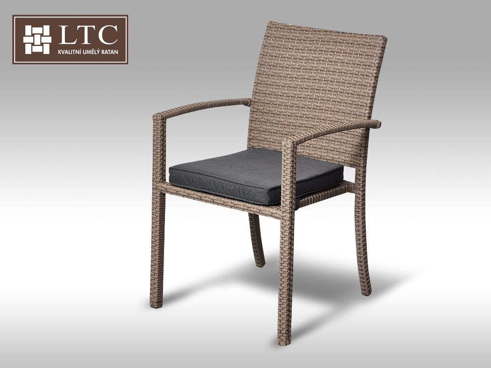 Židle z umělého ratanu Armino - VZHLEDOVÉ VADY 1