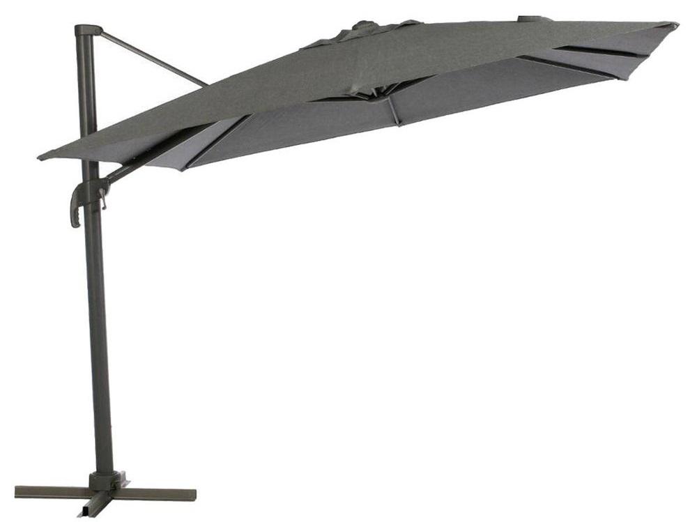 Slunečník Elea 300x300cm olefin antracit